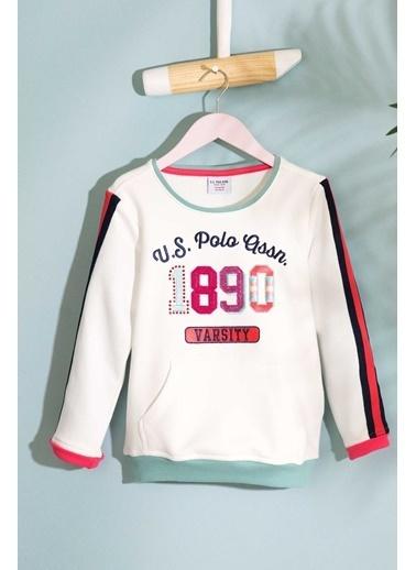 U.S.Polo Assn. Sweatshirt Beyaz